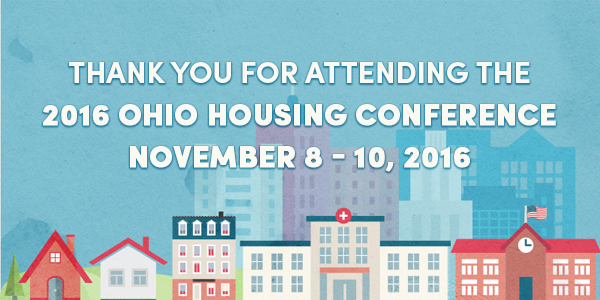 Ohio Housing Conference Save the Date