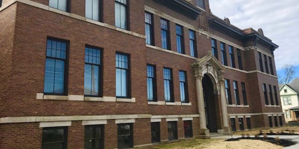 Nelsonville School Commons