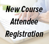 New Course Attendee Registration